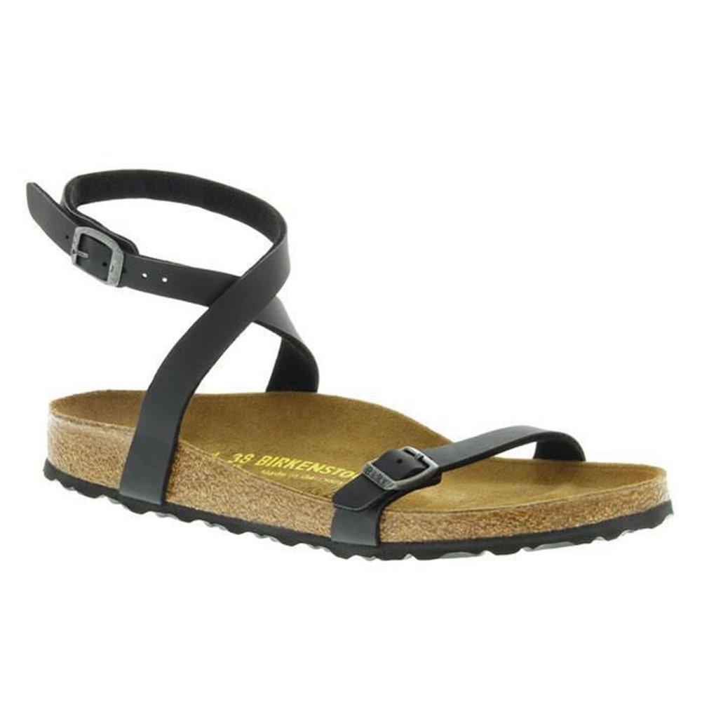 a58269c16 Birkenstock New Daloa Black Birko-Flor Womens Sandals