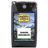The Organic Coffee Co., Sumatra Mandheling- Whole Bean, 2-Pound (32 oz.), USDA Organic