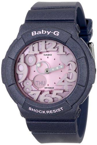 Casio Women's BGA-131-8BCR Baby-G Analog-Digital Display Quartz Grey Watch