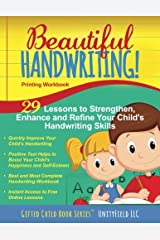 Beautiful Handwriting!: Printing Workbook Paperback