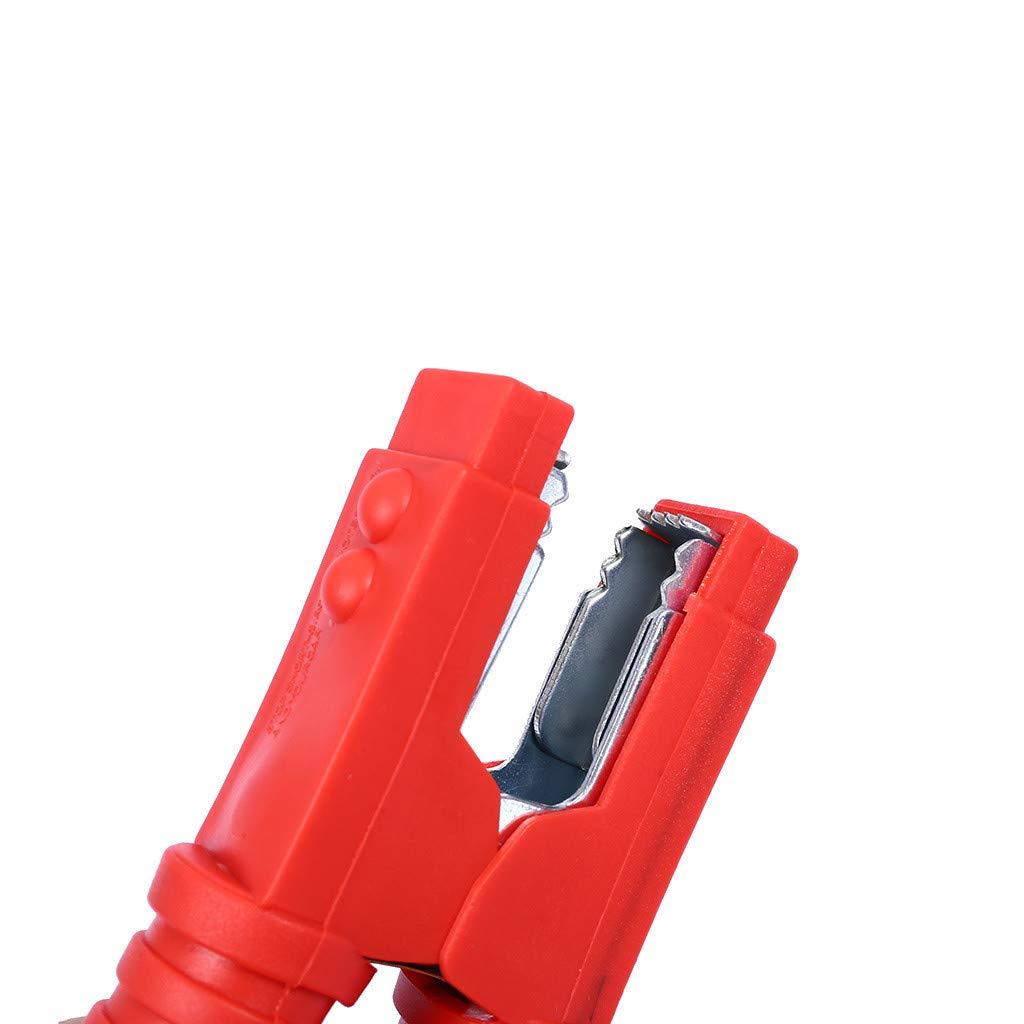 150A kuygdvd-FR 2pcs Clip de Batterie de Voiture Clip de Batterie de Voiture Pince Crocodile m/étal Plaque de cuivre pour Chargeur de Batterie