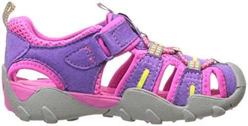 pediped Mädchen Canyon Geschlossene Sandalen, Pink (Grape), 30 EU Kinder