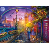 Buffalo Games - Cities in Color - London Rain - 750 Piece Jigsaw Puzzle