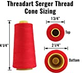 Polyester Serger Thread - 50 Colors - 40/2 Tex 27 - Threadart