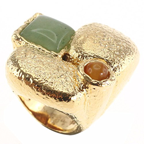 Jade Square Ring - 9