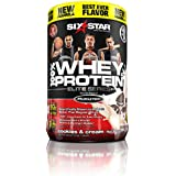 Six Star Pro Nutrition 100% Whey Protein Plus, 32g Ultra-Pure Whey Protein Powder, Cookies and Cream, 2 Pound