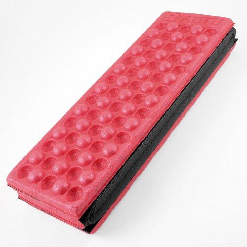 Foam Foldable Cushion Seat Cover Pad Magenta