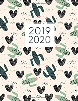 2019-2020: 2019-2020 Weekly and Monthly Planner, Agenda, Organizer ...