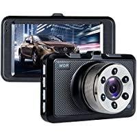 In Car Dash Cam ViiVor 1080P 3.0 Car Dashboard Camera Driving Video Recorder Car DVR with Motion Detection Parking Guard G-Sensor and Loop Recording with 140 Degree Wide Angle