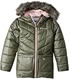 Columbia Big Girls' Katelyn Crest Mid Jacket, Cypress, Cupid, Large