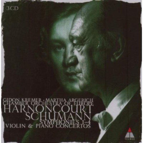 CD : Chamber Orchestra of Europe - Schumann: Sym Nos 1 - 4 / VLN Cto / Pno Cto (CD)