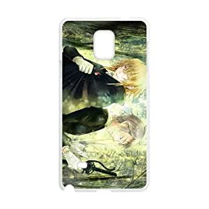 Samsung Galaxy Note 4 Cell Phone Case White Pandora Hearts Generic Phone Case Cover Clear XPDSUNTR22971