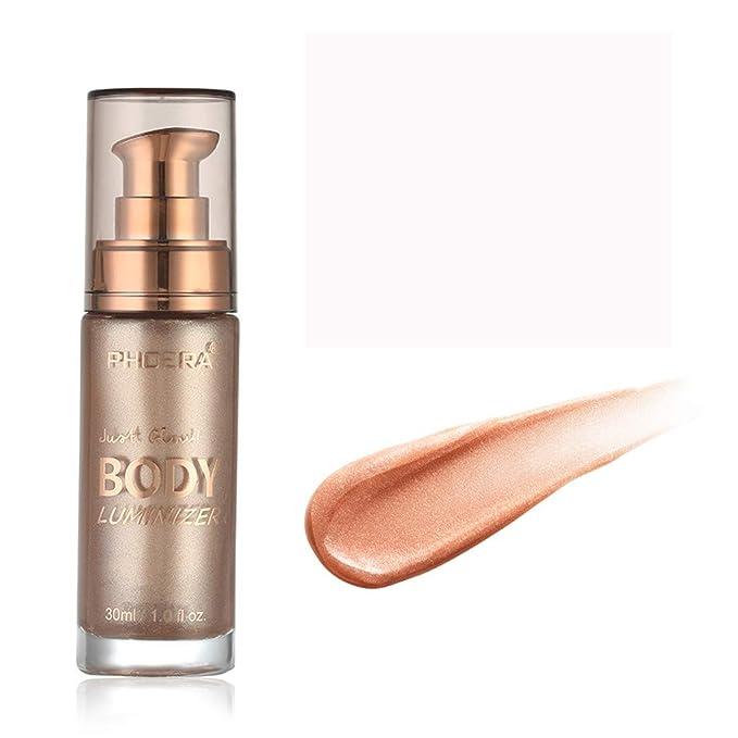 Amazon.com: Crema de maquillaje para el cuerpo de Afazfafe ...