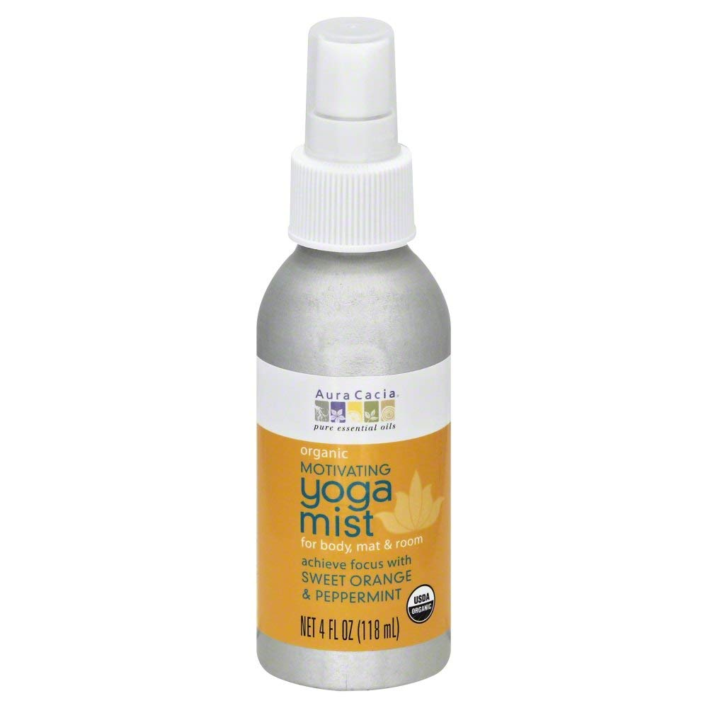 Aura Cacia Yoga Mist Motivating 4.0 FO (Pack of 6)