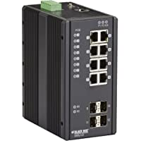 ENET POE+ INDUSTRIAL SWITCH MGD