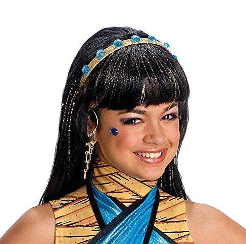Cleo De Nile Wig Costume Accessory ()