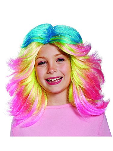 Lady Glitter Sparkles Child Trolls Wig