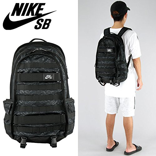 f0740a41 Nike SB RPM Graphic Black/Black/Black 1 Backpack Bags by NIKE (Image