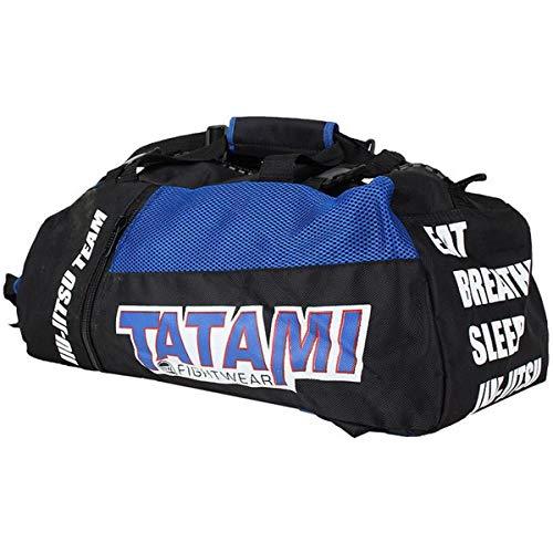TATAMI Jiu Jitsu Gear Bag Black