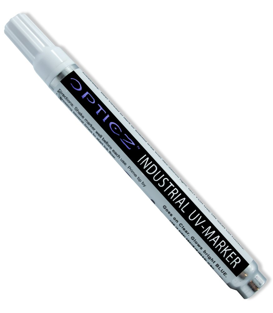Opticz Industrial UV Blacklight Reactive Invisible Blue Ink Marking Variety Kit by Opticz (Image #3)