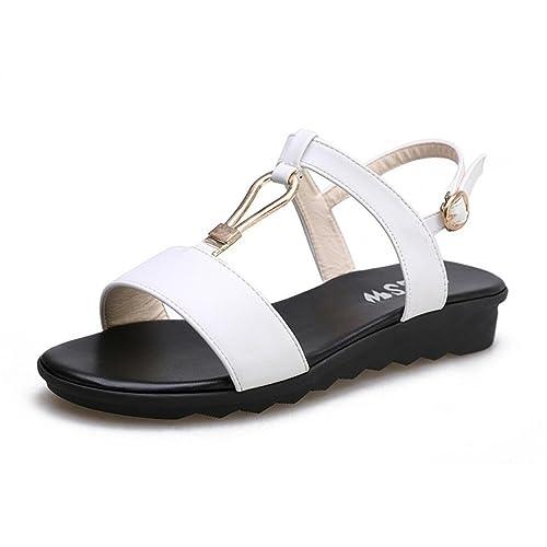 XZGC - Strap alla caviglia donna , bianco (White), 35 EU