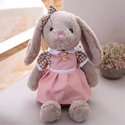 SXPC Plush Software Cartoon Cute Rabbit Doll with Skirts Children's Gifts Plush Toys: Sports & Outdoors
