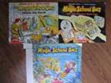 Magic School Bus, Inside the Earth, the Electric Field Trip and On the Ocean Floor-Set of 3 Books (Scholastic)