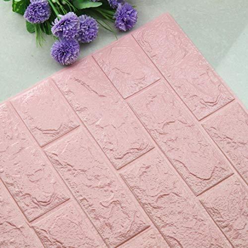 (DIY 3D Brick PE Foam Wallpaper Panels Room Decal Stone Decoration Embossed (F))