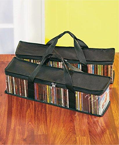 - CD Storage Bags 2 Pack (Black)