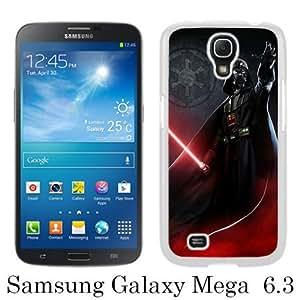 WOSN Darth Vader White Case Cover for Samsung Galaxy Mega 6.3 i9200 i9205
