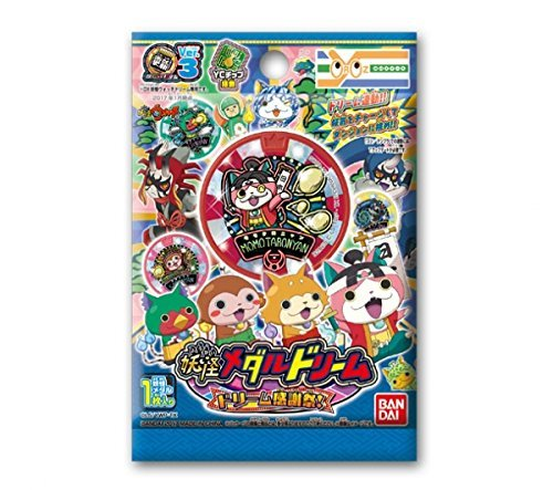 Yokai watch DREAM MEDAL Thanksgiving Day 1BOX(10Pack) Limited sales Yorozu Mart by BANDAI