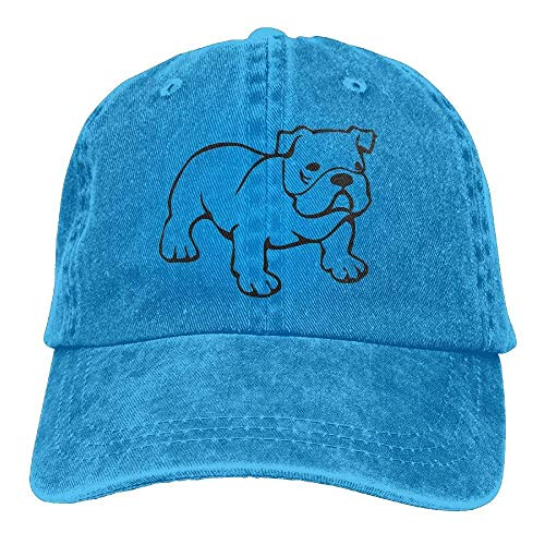 Denim Skull Cowgirl Hat Hats for Cap DEFFWB Bulldog Women Cowboy Men Sadly Sport qxFwTWpt