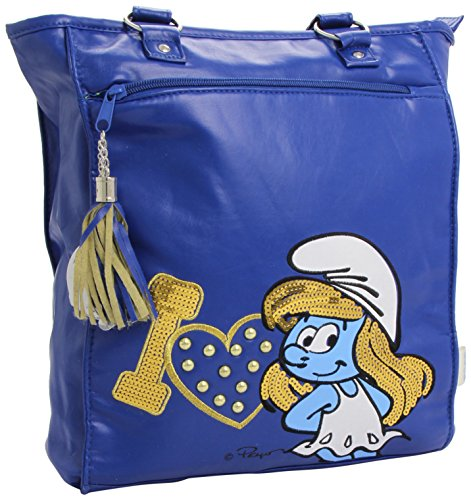The Smurfs Borsa a mano I Love Blue United Labels