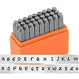 ImpressArt- Basic Bridgette Uppercase Letter Metal Stamp Set by ImpressArt Metal Stamps
