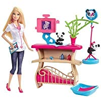 Barbie Careers Panda Caretaker Playset