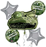 Camouflage & Army Tank Balloon Bouquet offers