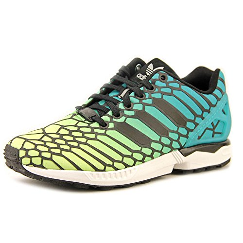 228d75f97a2a ZX Flux J (Youth Kids) (Xeno - Negative Pack) in Yellow White Multi by  Adidas