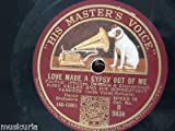 78rpm RUDY VALLEE love made a gypsy out of me / stein song