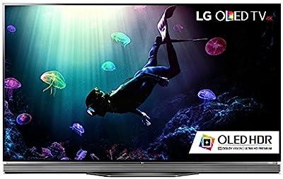 LG Electronics OLED65E6P Flat 65-Inch 4K Ultra HD Smart OLED TV (2016 Model) Kit with Microfiber Cloth