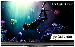 LG Electronics OLED55E6P Flat 55-Inch 4K Ultra HD Smart OLED TV (2016 Model) KIT With Microfiber Cleaning Cloth