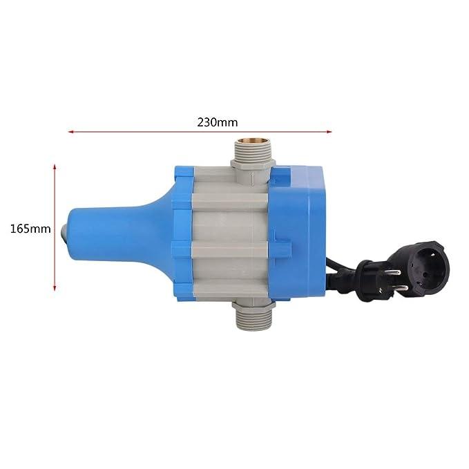 bingh otfire c50mit Bomba Control Interruptor de presión para casa Agua de Brunnen automático Bomba Interruptor con Cable: Amazon.es: Jardín