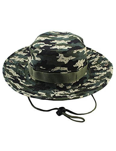 newrong Men's Outdoor Fishing Hunting Hat L(58-60) Grass Camouflage