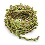 apartment living room decorating ideas 66 Feet Artificial Vine Fake Foliage Leaf Plant Garland Rustic Jungle Vines Wedding Home Decor