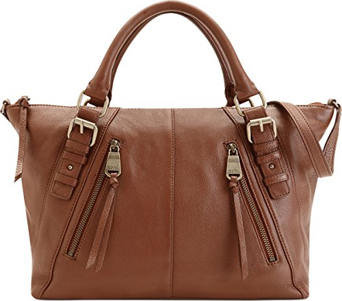 Marc New York Nathalie Satchel, Walnut (Andrew Marc Bags)