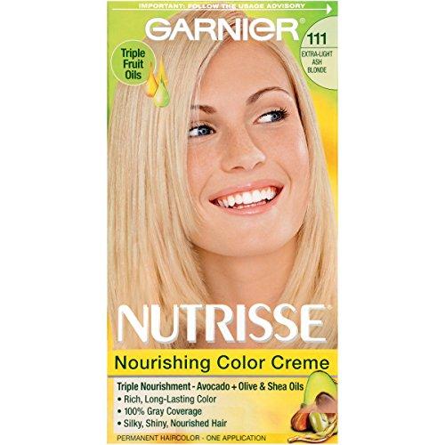 Garnier Nutrisse Nourishing Hair Color Creme, 111 Extra-L...
