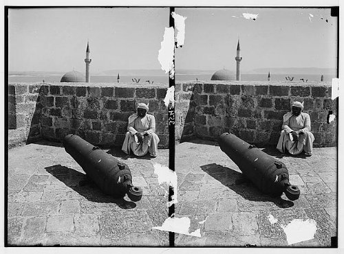 (HistoricalFindings Photo: ritish Cannon from The Napoleonic Wars,Akka,Acre,Accho,Israel,Middle East )