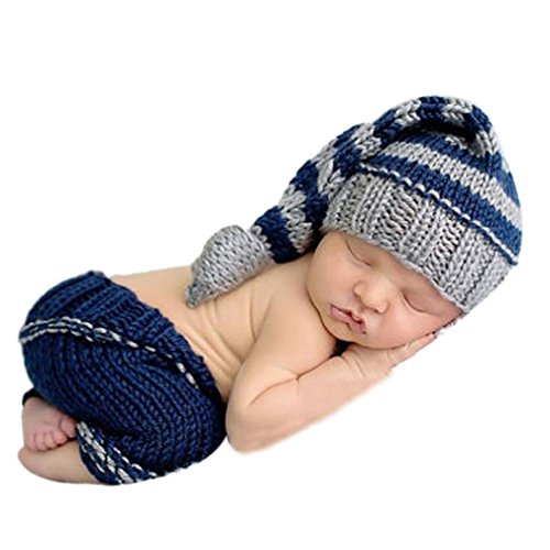 Coromose 2015 Newborn Baby Girls Boys Crochet Knit Costume Photo Photography Prop (Baby Boy Shoes Clearance)