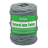 Vivifying 5mm Jute Rope, 98 Feet Natural Braided