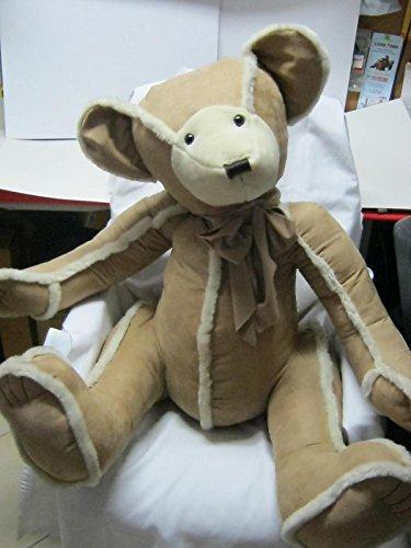 Gingerbread Teddy - Bath & Body Works Gingerbread the Teddy Bear In Tan Shearling Limited Edition
