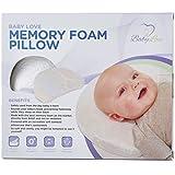 Newborn Baby Head Shaping Pillow | Memory Foam Cushion...